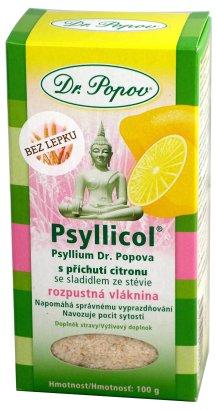 Psyllicol s příchutí citrónu