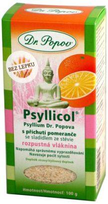 Psyllicol s příchutí pomeranče