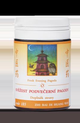 Svěžest podvečerní pagody