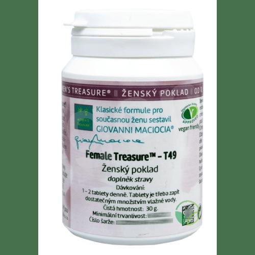 T49 - Ženský poklad (Female Treasure) 60 tbl