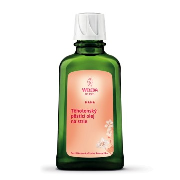 Těhotenský pěstící olej weleda