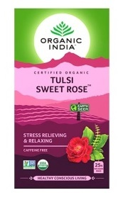 Tulsi sladká růže 25 sáčků