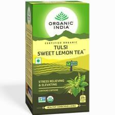Tulsi sladký citron čaj 25 sáčků