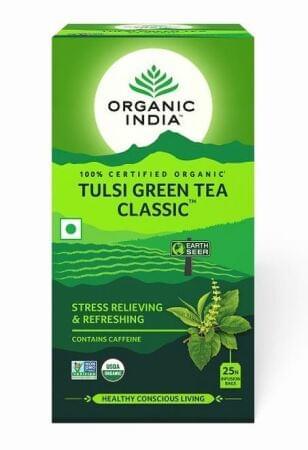 Tulsi green tea ecce vita