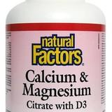 Vápník a hořčík s vitamínem D3 90 tbl