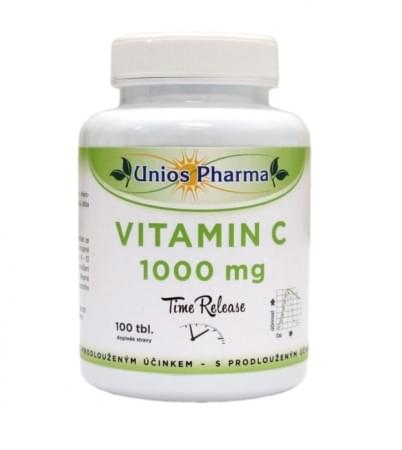 Vitamin C 1000 mg 100 tbl Time release