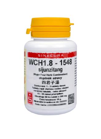 WCH 1.8 Pilulka čtyř ušlechtilých – Si Jun Zi Tang 60 tablet