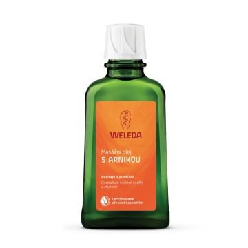 Masážní olej s arnikou weleda